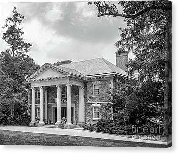 Haverford College Roberts Hall Canvas Print by University Icons