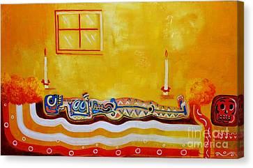 Having A Rest Canvas Print by Jose Luis Montes