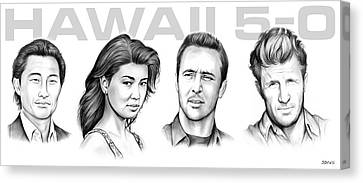 Hawaii 5 0 Canvas Print by Greg Joens