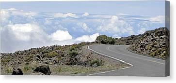 Hawaiian Highway To Heaven Canvas Print by Bob Slitzan