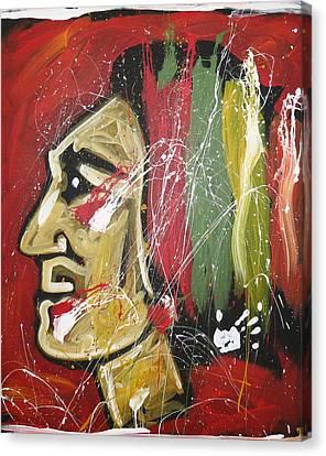 Hawks Canvas Print by Elliott From