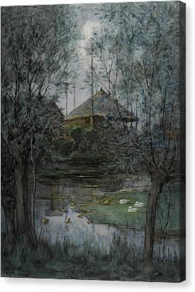 Haystack Canvas Print by Piet Mondrian