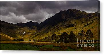 Haystacks Canvas Print by John Collier