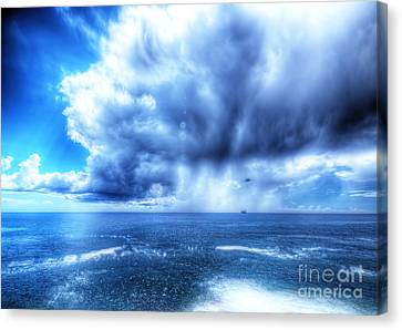 Hdr Storm Canvas Print by Stefano Gervasio