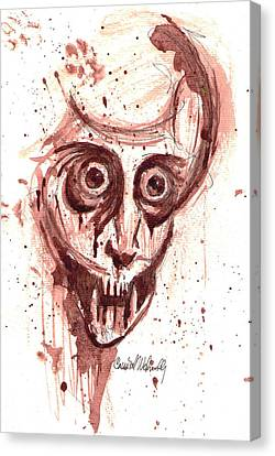 He-who-came-in-dreams Canvas Print by Cannibal Wednesday