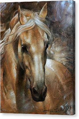 Head Horse 2 Canvas Print by Arthur Braginsky