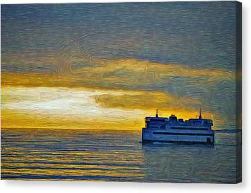Heading Home - Island Home Canvas Print by Jeffrey Canha