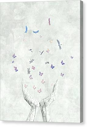 Heal Canvas Print by Jacky Gerritsen