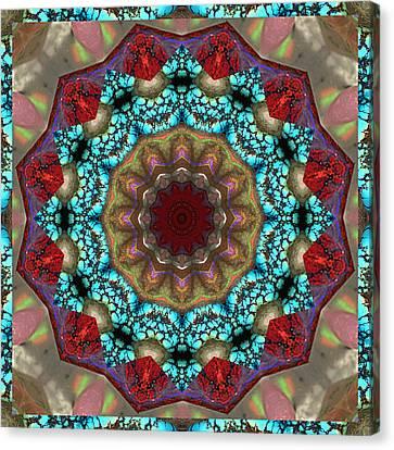 Healing Mandala 35 Canvas Print by Bell And Todd
