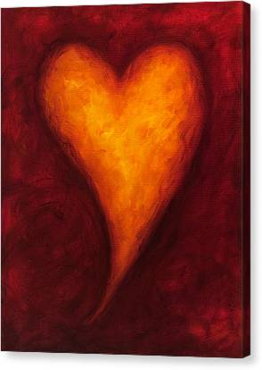 Heart Of Gold 2 Canvas Print by Shannon Grissom