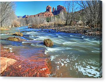 Heart Of Sedona 2 Canvas Print by Donna Kennedy