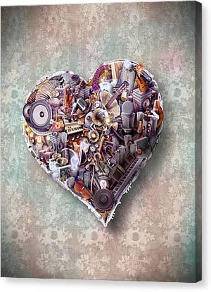 Heart Canvas Print by Robert Palmer