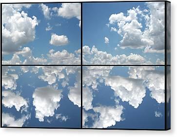 Heaven Canvas Print by James W Johnson