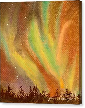 Heavenly Dance Canvas Print by Mohamed Hirji