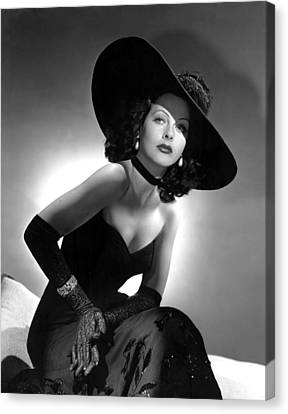 Hedy Lamarr Canvas Print by Everett