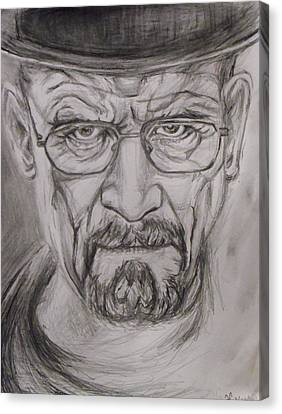 Heisenberg Canvas Print by Hannah Curran