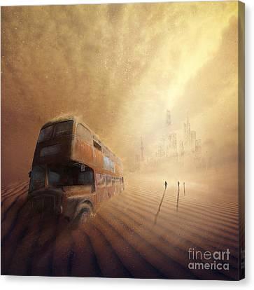 Helios Decending Canvas Print by Svetlana Sewell