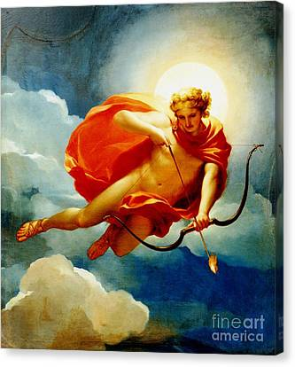 Helios - Personification Of Midday Canvas Print by Roberto Prusso