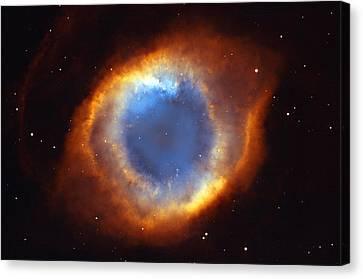 Helix Nebula Canvas Print by Ricky Barnard