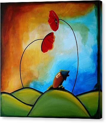 Hello Canvas Print by Cindy Thornton