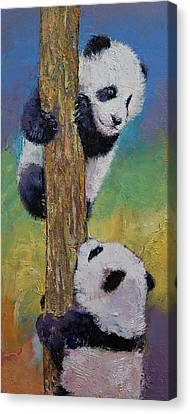 Hello Canvas Print by Michael Creese
