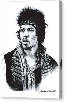 Hendrix No.02 Canvas Print by Unknow