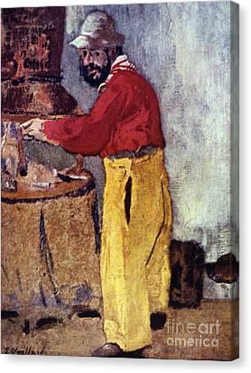 Henri De Toulouse-lautrec Canvas Print by Granger