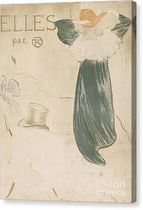 Henri De Toulouse Lautrec  Canvas Print by MotionAge Designs