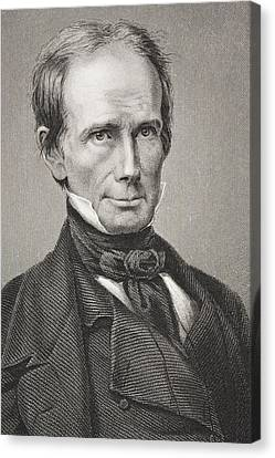 Henry Clay 1777 - 1852. American Canvas Print by Vintage Design Pics