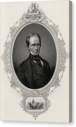 Henry Clay 1777-1852 American Statesman Canvas Print by Vintage Design Pics