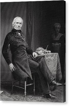 Henry Clay 1777 To 1852. American Canvas Print by Vintage Design Pics
