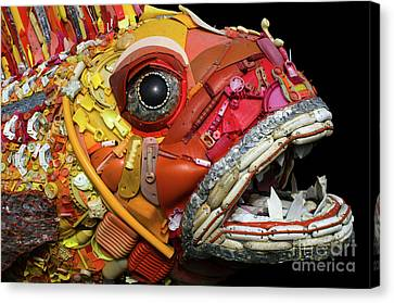 Henry The Fish 2 Canvas Print by Bob Christopher