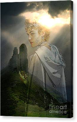 Her Realm Canvas Print by Tammera Malicki-Wong