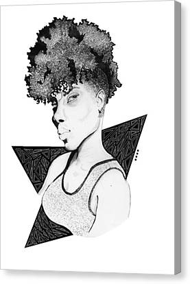 HER Canvas Print by Tyquill Williams