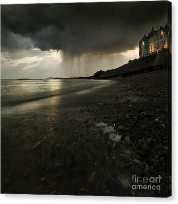 Here Comes The Rain Canvas Print by Angel  Tarantella