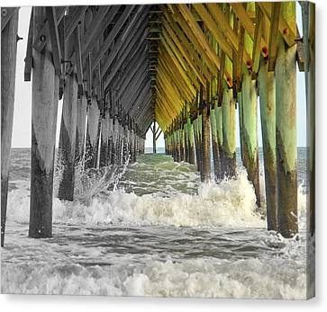 Here's Your Light At The End Of The Tunnel Canvas Print by Betsy C Knapp