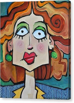 Herringbone Canvas Print by Tim Nyberg