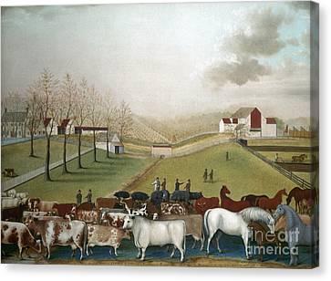 Hicks: Cornell Farm, 1848 Canvas Print by Granger
