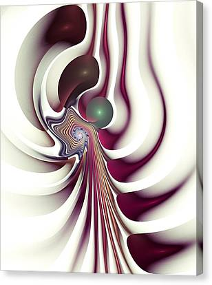 Hidden Agenda Canvas Print by Anastasiya Malakhova