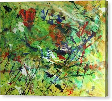 Hidden Love Canvas Print by Adam LeCroy
