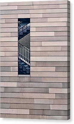 Hidden Stairway Canvas Print by Scott Norris