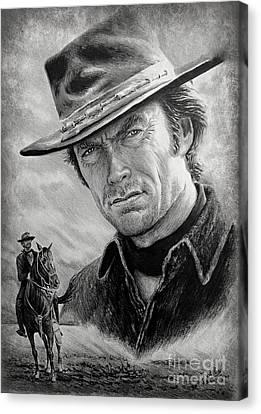 High Plains Drifter Canvas Print by Andrew Read