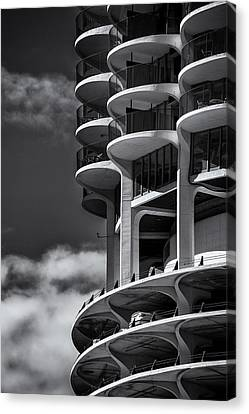 High Rise Living Canvas Print by Andrew Soundarajan