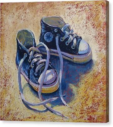 High Style Baby Boy Canvas Print by Donna Shortt
