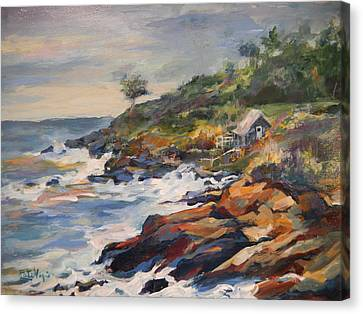 High Tide Canvas Print by Pati Maguire