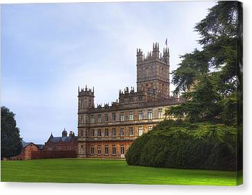 Highclere Castle Canvas Print by Joana Kruse