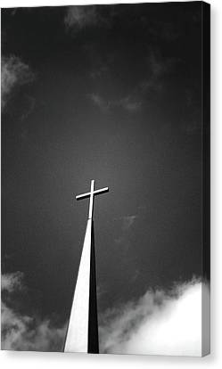 Higher To Heaven - Black And White Photography By Linda Woods Canvas Print by Linda Woods