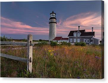 Highland Light Cape Cod 2015 Canvas Print by Bill Wakeley