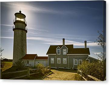 Highland Lighthouse Canvas Print by Joan Carroll