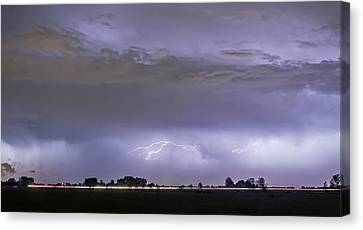 Highway Storm Canvas Print by James BO  Insogna